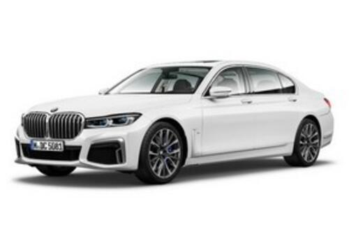 """Новая BMW 7-й серии получит огромные """"ноздри"""""""