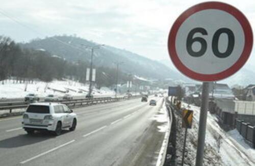 В Алматы снизили скоростной режим на главных магистралях