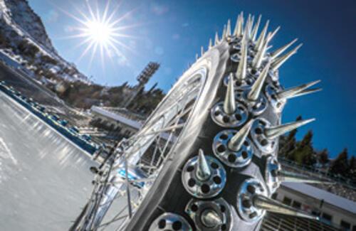 В Алматы с успехом прошел финал личного Чемпионата мира по мотогонкам на льду