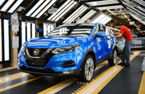 Новый Nissan Qashqai встает на конвейер в Санкт-Петербурге