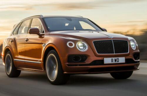 Bentley покажет самый быстрый в мире серийный кроссовер