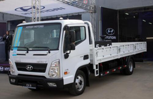 Hyundai Com Trans Kazakhstan презентовал новый Hyundai EX8
