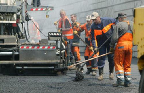 Проведение дорожно-строительных работ по Алмалинскому району с 5 апреля!
