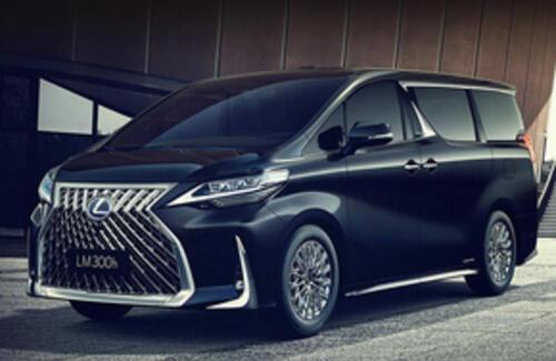 Lexus представила свой первый в истории минивэн