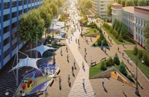 Еще три улицы в Алматы станут пешеходными