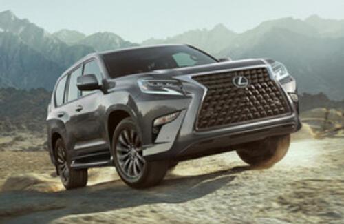 Lexus показала рестайлинговый внедорожник GX