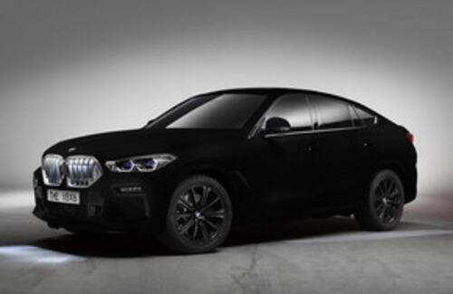 BMW показала первый самый черный  в мире автомобиль