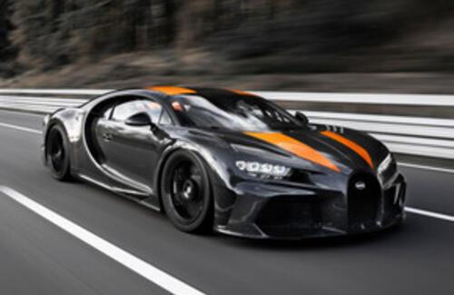 Bugatti Chiron поставил новый рекорд скорости
