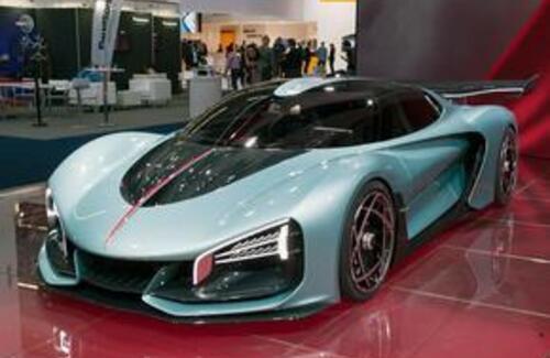 Китайцы показали автомобиль, который быстрее Bugatti Chiron