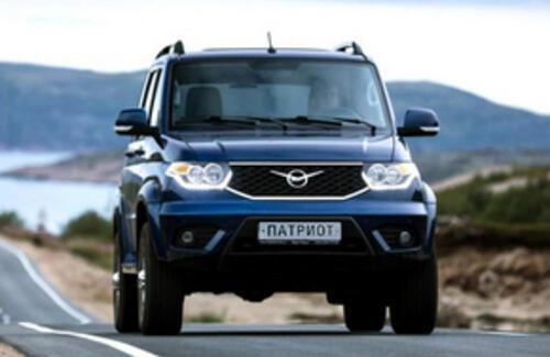 УАЗ Патриот с автоматической коробкой передач доступен к заказу