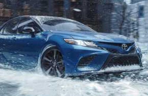 Toyota Camry получила полный привод