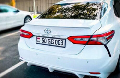 """""""Иностранным"""" авто в Казаxстане получат специальные номерные знаки"""