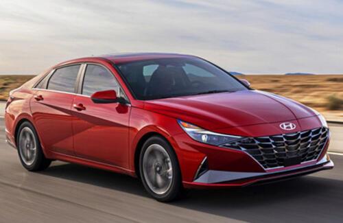 Hyundai представила новую Elantra