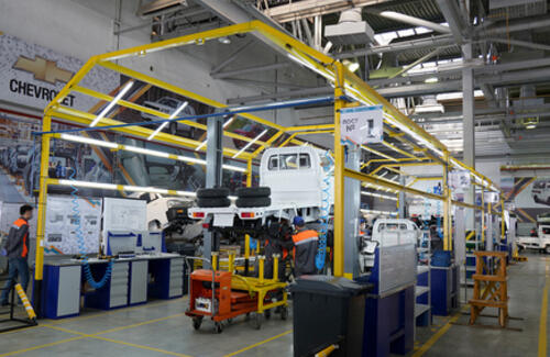 Главы правительств Казахстана и Узбекистана дали старт производству CHEVROLET в РК