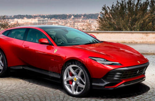 Ferrari готовит свой первый кроссовер
