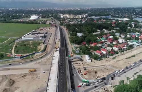 Новая эстакада появится в Алматы