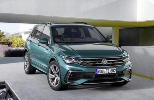 Volkswagen показал обновленный Tiguan