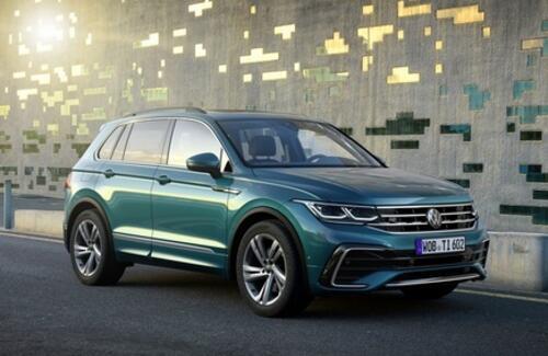 Мировая премьера нового Volkswagen Tiguan