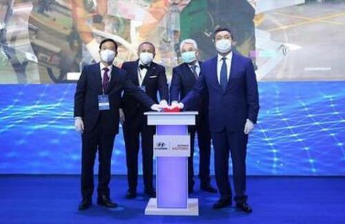 В Алматы запустили завод Hyundai Trans Kazakhstan по производству легковых автомобилей