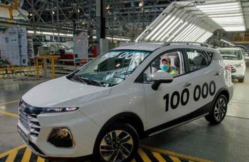 100-тысячный автомобиль произведен костанайским заводом
