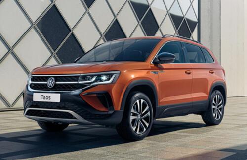 Марка Volkswagen делится первыми фактами о новом SUV – Taos