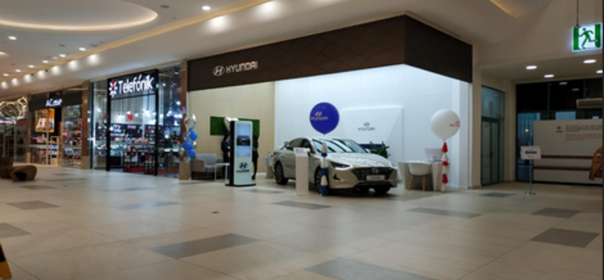 Hyundai Sales Point, Алматы, ул. Розыбакиева, 247 А, Мега-1, 1 этаж