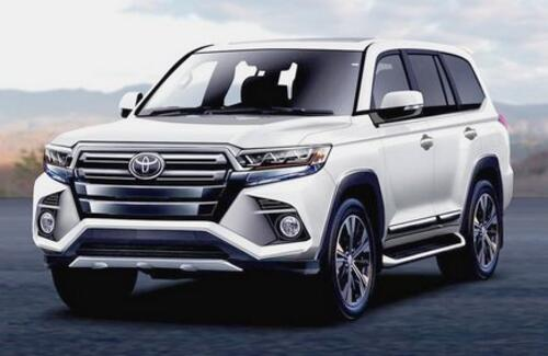 Новый Toyota Land Cruiser 300 может получить 700-сильный мотор