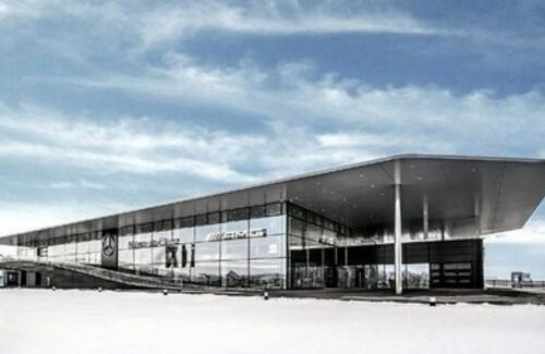 В Нур-Султане открылся крупнейший автоцентр Mercedes-Benz
