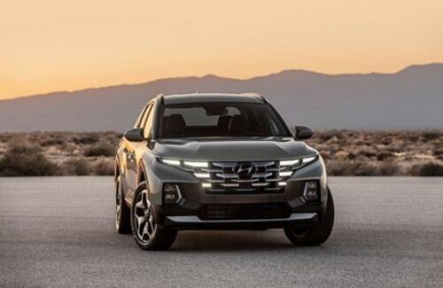 Hyundai представил свой первый серийный пикап
