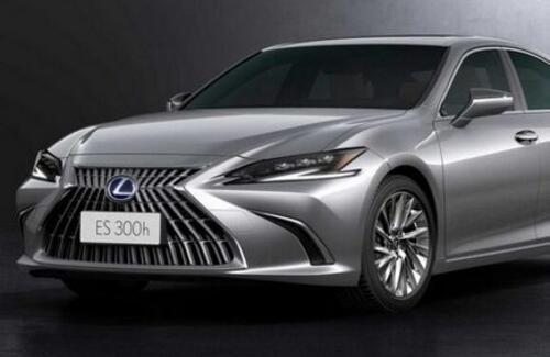 Представлен обновленный Lexus ES