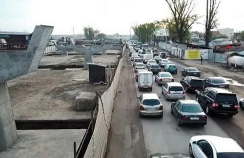 Развязку на Алтын-Орде в Алматы скоро достроят