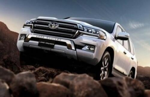 Toyota Land Cruiser 300: скоро в Казахстане