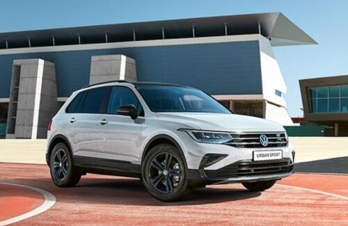 Volkswagen представляет Tiguan в новой версии URBAN SPORT