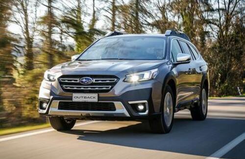 Новый Subaru Outback уже в Казахстане