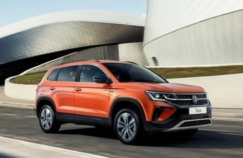 Volkswagen Taos – старт продаж новинки в Казахстане