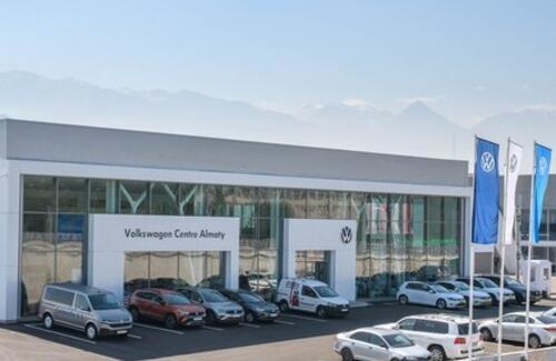 Дилерскую сеть Volkswagen в Казахстане пополнили два новых автоцентра