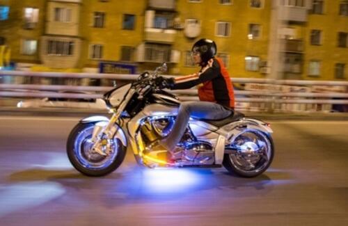 В Алматы планируют установить запрет на движение мотоциклов